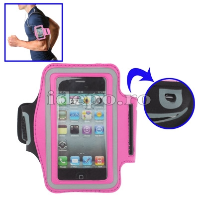 Banderola iPhone 4, 4S, iPod Touch <br> Extreme Power Pink