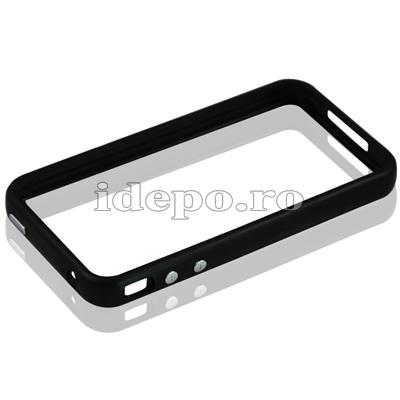 Bumper iPhone 4,4S <br> R-Design Black<br> Accesorii iPhone 4S