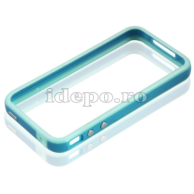 Bumper iPhone 4,4S <br> R-Design Blue<br> Accesorii iPhone 4S