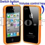 Bumper iPhone 4,4S <br>  R-Design Orange<br> Accesorii iPhone 4S