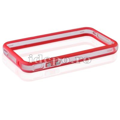 Bumper iPhone 4,4S <br> F-Design Red<br> Accesorii iPhone