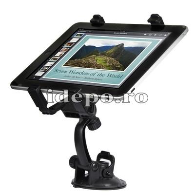 Suport  auto iPad 4 Retina, iPad 3 <br> Inaltime ajustabila