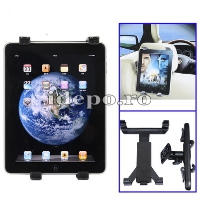 Suport auto iPad 4 Retina, iPad 3 <br> Ajustabil in inaltime