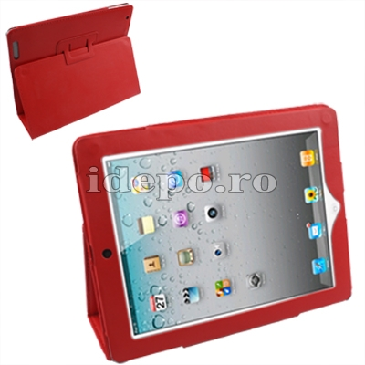 Husa iPa-d <br> Husa iPad 2 - 3 - 4 (9.7INCH) <br> Sun Valeo - Caramiziu