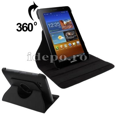 Husa Samsung Galaxy Tab 7.0 Plus P6200, P6210<br> Sun Argos Black