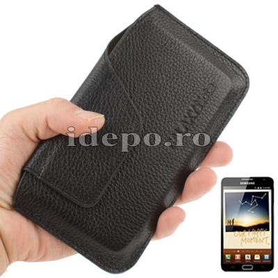Husa Samsung Galaxy Note N7000, Note 2 N7100 <br>Sun Elegance Piele