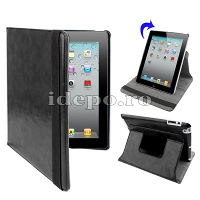 Husa iPad 2<br> Sun Summum Black<br> Smart Cover