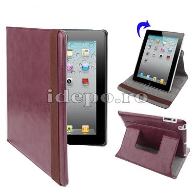 Husa iPad 2 <br> Sun Summum Dark<br> Smart Cover