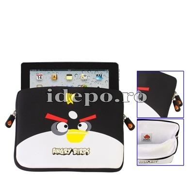 Husa iPad 4, iPad 3<br> Angry Birds <br> Accesorii iPad 4