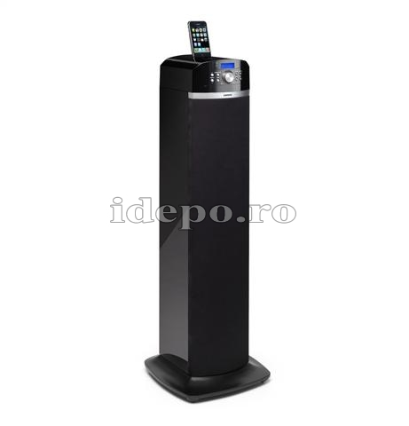 Lenco iPT-22 DVD <br> DVD Sound Tower <br> Sistem audio iPhone, iPod