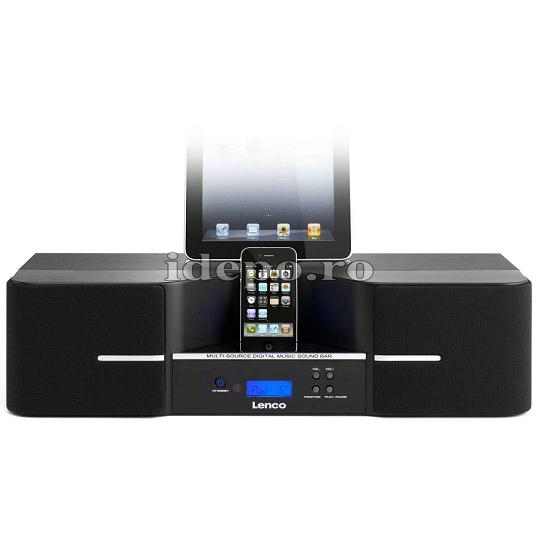 Lenco iPD-1003<br> 3D Sonic Emotion<br> Sistem audio iPhone, iPad, iPod