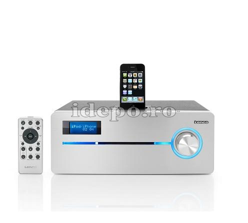 Lenco iPD-9000 <br> CD/MP3 Player<br> Sistem audio iPhone, iPod