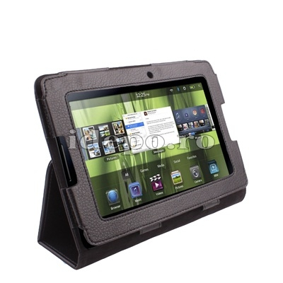 Husa BlackBerry PlayBook  <br>Sun Office Piele<br> Accesorii BlackBerry Playbook