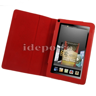 Husa Amazon Kindle Fire <br> Sun Executive Piele<br> Accesorii Kindle Fire