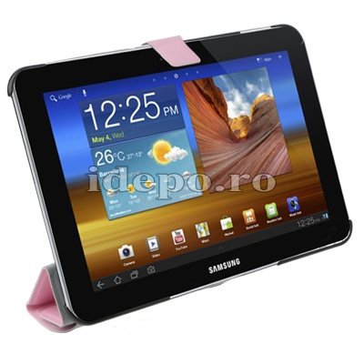 Husa Samsung Galaxy Tab 8.9 P7300, P7310 Smart Cover <br> Sun Smart Cover Pink