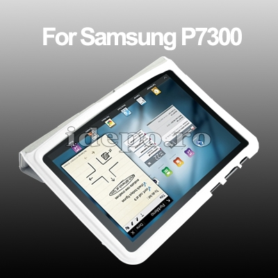 Husa Samsung Galaxy Tab 8.9 P7300, P7310 <br> Sun Smart Cover White
