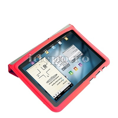 Husa Samsung Galaxy Tab 8.9 P7300, P7310<br> Sun Smart Cover Red
