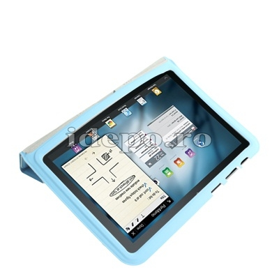 Husa Samsung Galaxy Tab 8.9 P7300, P7310 <br> Sun Smart Cover Blue