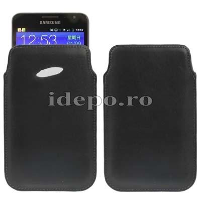 Husa Samsung Galaxy Note 7000, Note 2 N7100<br> Original Samsung Piele