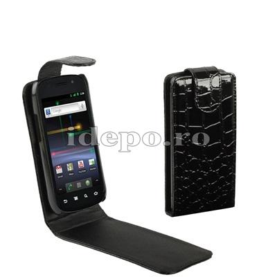 Husa Google Nexus S <br> Husa Samsung Nexus S<br>Sun Corcodile Piele