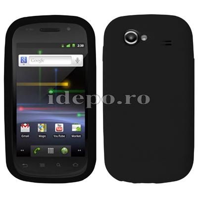 Husa Google Nexus S <br> Husa Samsung Nexus S<br> Sun Silicon Black