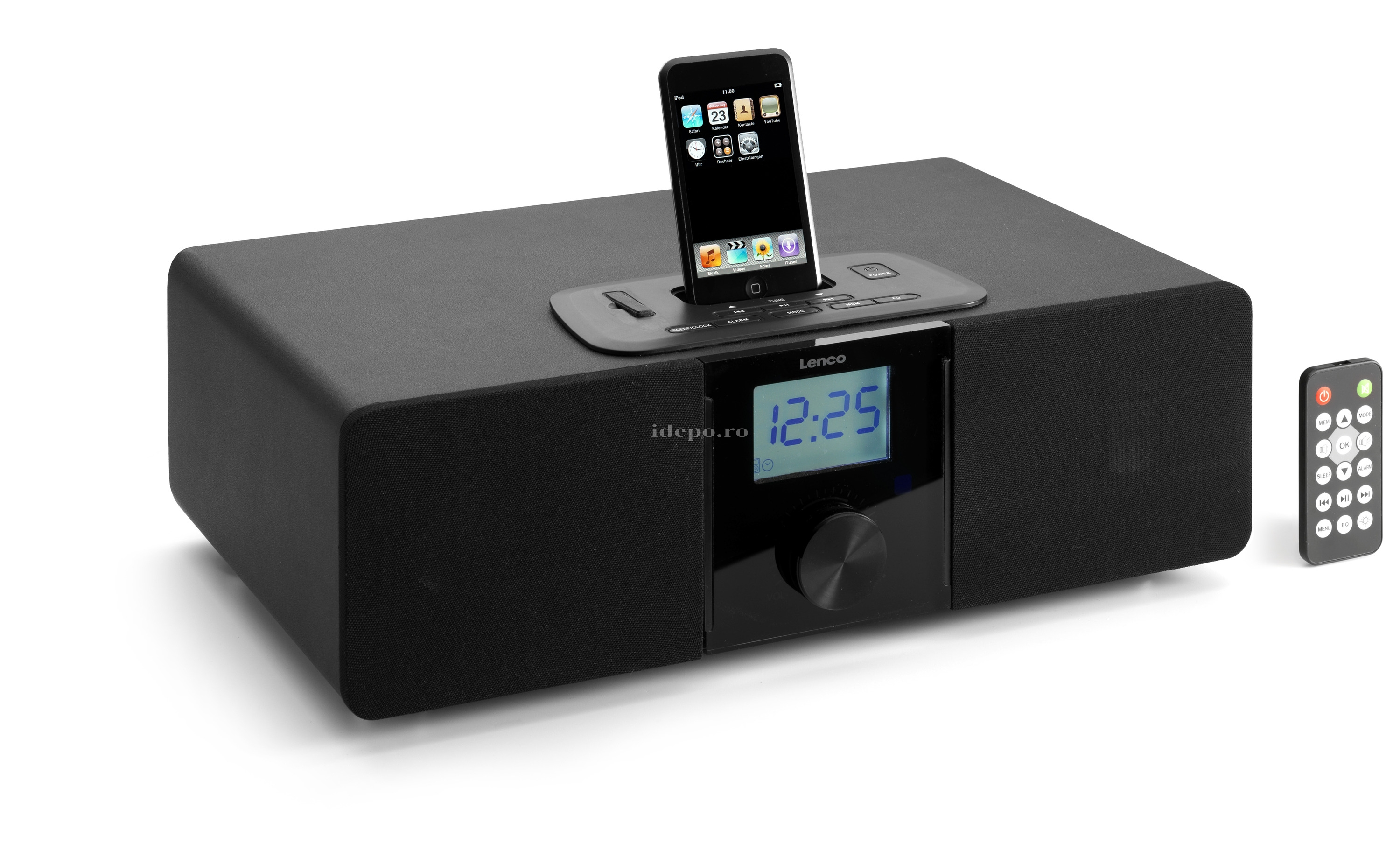 Lenco iPD-4100<br> Docking&Sound<br> Sistem audio iPhone, iPod