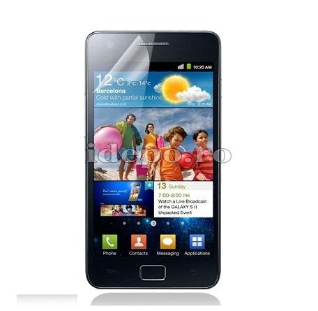 Folie protectie ecran Samsung Galaxy S2 i9100 <br> Sun Anti Reflex