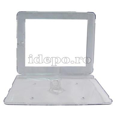 Husa iPad <br>Crystal Clear iStand   <br>Accesorii iPad