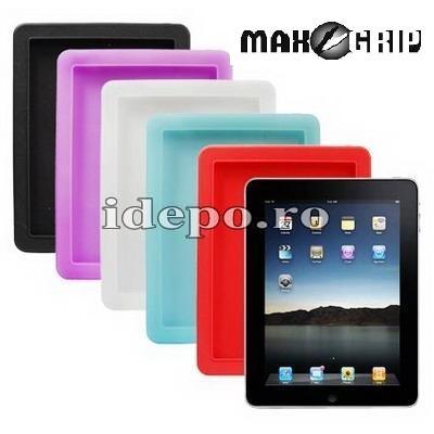 Husa iPad silicon Max Grip  Accesorii iPad
