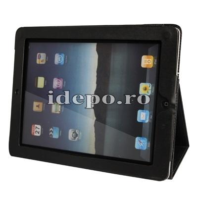Husa iPad, IPAD 2-3-4 (9.7INCH)  Sun Valeo - Negru  ! Mici defecte optice !