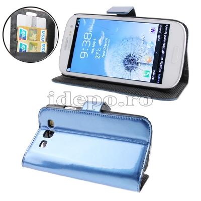Husa Samsung Galaxy S3 I9300Sun Evoque Blue Accesorii Samsung Galaxy S3