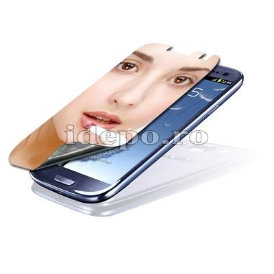 Folie protectie ecran Samsung Galaxy S3 I9300<br> Sun Mirror Japan
