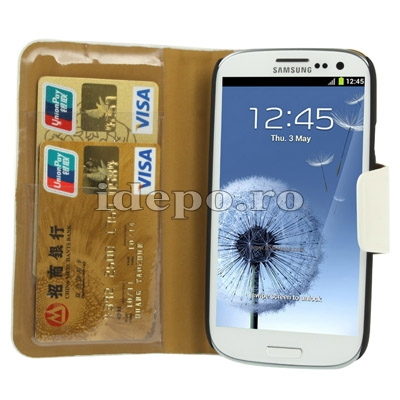 Husa Samsung Galaxy S3 I9300<br>Sun Venice Piele<br> Accesorii Samsung Galaxy S3