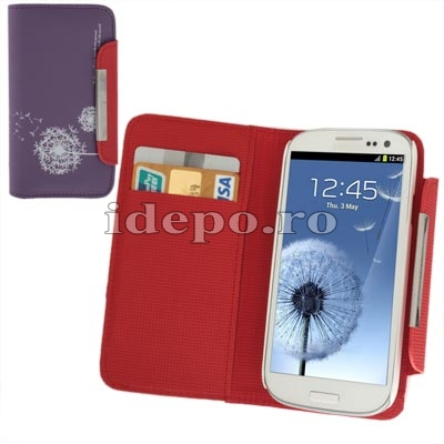 Husa Samsung Galaxy S3 I9300Sun Alis Indigo Accesorii Samsung Galaxy S3