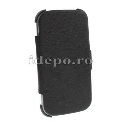 Husa Galaxy S3 I9300<br>Sun Exclusive Black<br> Accesorii Galaxy S3