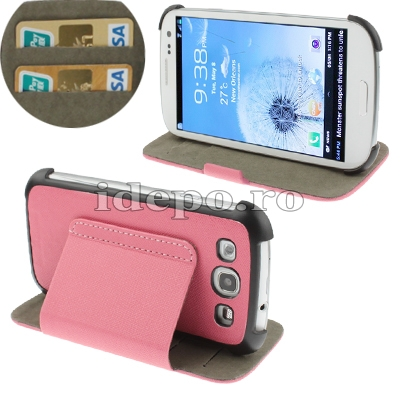 Husa Galaxy S3 I9300<br>Sun Exclusive Pink <br> Accesorii Galaxy S3
