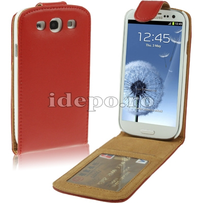 Husa Samsung Galaxy S3 I9300Sun Summum Red Accesorii Samsung Galaxy S3