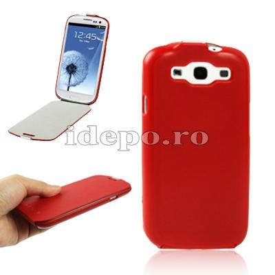 Husa Samsung Galaxy S3 I9300 Samsung Original Red Accesorii Samsung Galaxy S3