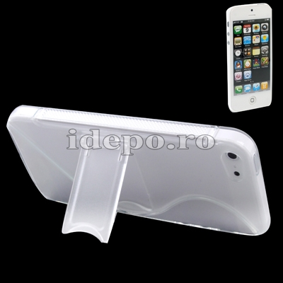 Husa iPhone 5S, 5 <br>  Sun iStand<br> Accesorii iPhone 5, 5S