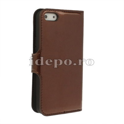 Husa iPhone 5S, 5 <br>  Sun Luxury Brown <br> Accesorii iPhone 5S, 5