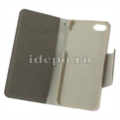 Husa iPhone 5, 5S <br>  Sun Business Gray<br> Accesorii iPhone 5