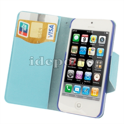 Husa iPhone 5, 5S <br>  Sun Business Blue <br> Accesorii iPhone 5S, 5