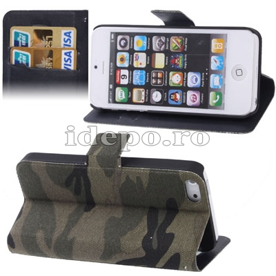 Husa iPhone 5S, 5 <br>  Sun Camuflaj <br> Accesorii iPhone 5S, 5