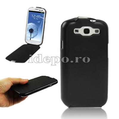 Husa Samsung Galaxy S3 I9300<br> Samsung Original Black<br> Accesorii Samsung Galaxy S3