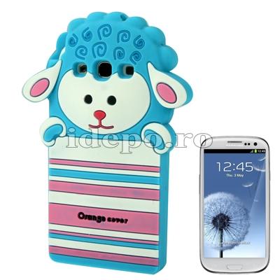 Husa Samsung Galaxy S3 I9300 Sheep Blue Accesorii Samsung Galaxy S3