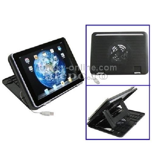 Stand iPad, Samsung, Motorola, BlackBerry cu sistem de racire