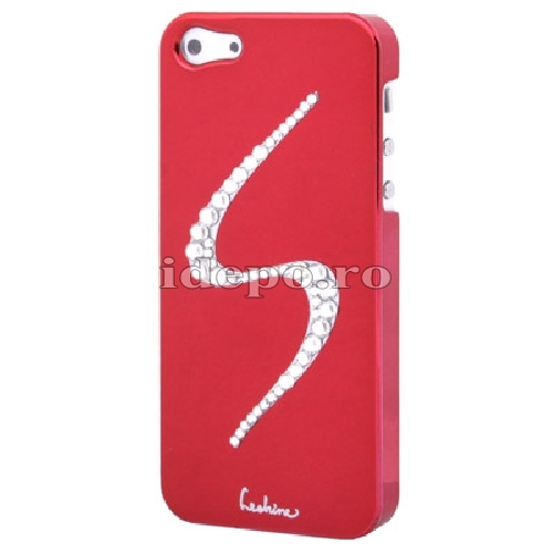 Husa iPhone 5S, 5 <br> Diamonds S Red<br> Accesorii iPhone 5