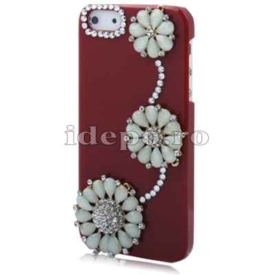 Husa iPhone 5, 5S <br> Sun Flowers Exclusive <br> Accesorii iPhone 5, 5S