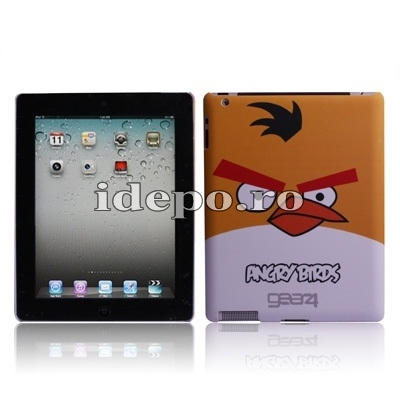 Husa iPad 9.7 INCH <br> IPAD, IPAD 2-3-4 <BR> Angry Birds - Orange