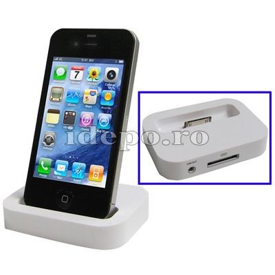 iDock iPhone 4, 4S <br> Accesorii iPhone 4